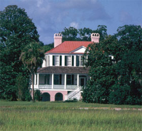 A home amid the trees near Port Royal, SC